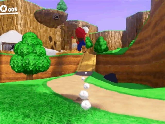 Super Mario 64 Is Being Remade Inside Super Mario Odyssey