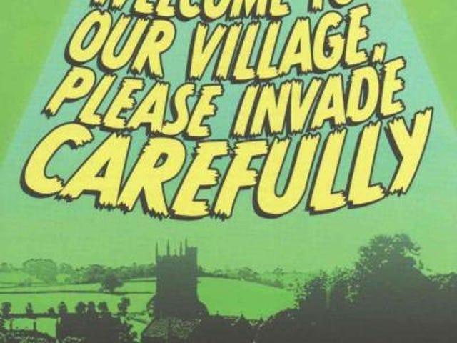 Doctor Who und Gilly von Game of Thrones verteidigen kleines englisches Dorf vor der Alien-Invasion