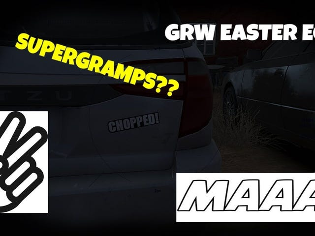 Mighty Car Mods Oeuf de Pâques dans Ghost Recon Wildlands