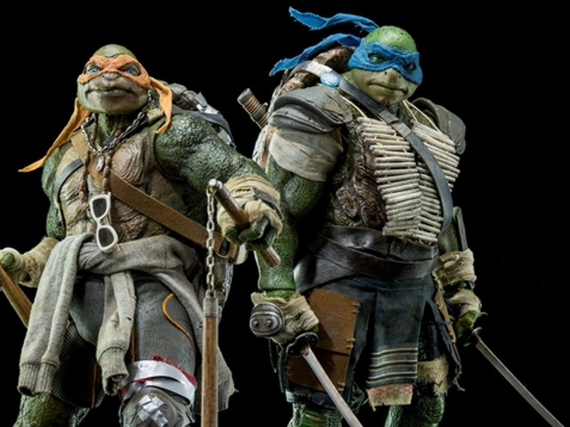 These Aren't The Teenage Mutant Ninja Turtle Figures You'd Be Hoping For