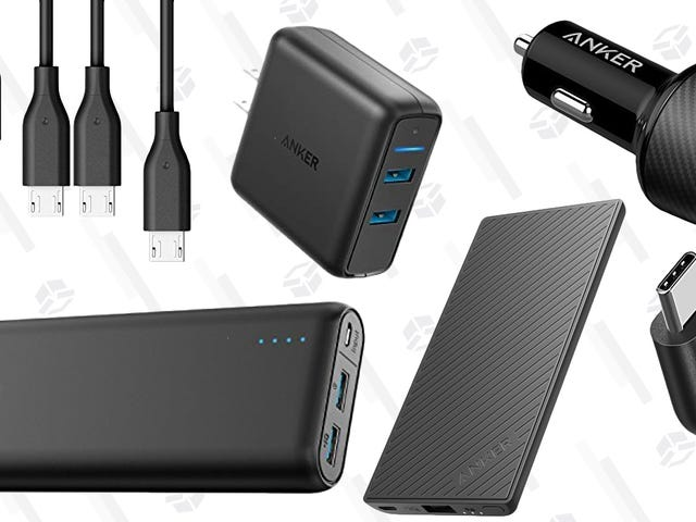 Amazon's Blowing Out A Bunch of Anker Charging Gear, Today Only