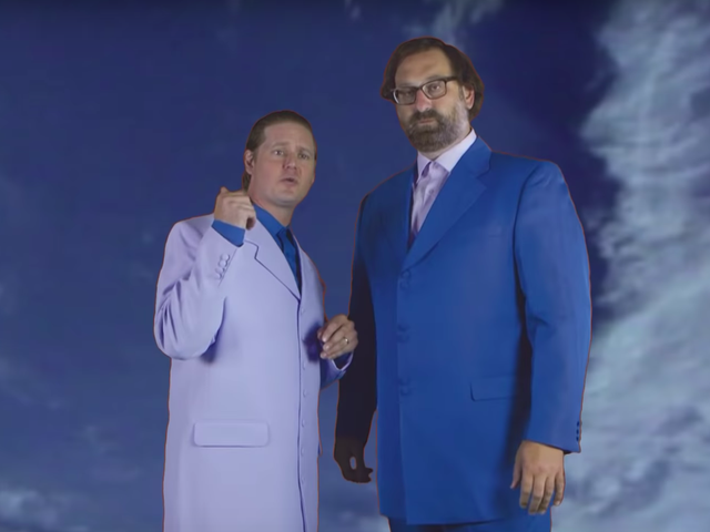 Tim e Eric se reúnem para uma revanche no seriado Beef House no Adult Swim
