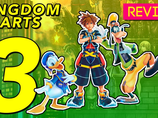 <i>Kingdom Hearts III</i> : <i>Kotaku</i> Dergisi