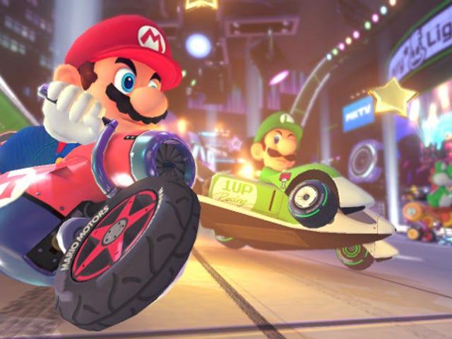 El nuevo modo de juego <i>Mario Kart 8</i> es verdaderamente rápido y Difícil