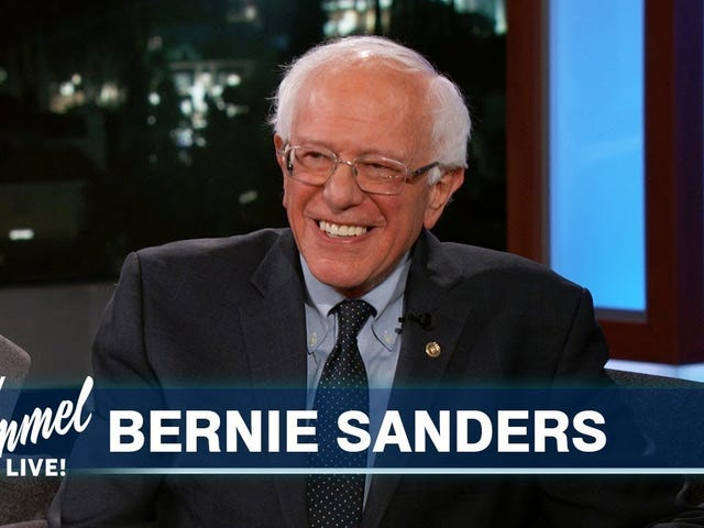 Bernie Sanders unterstützt auch Mama Cardi, Hündin