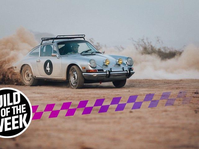How To Transform A Ran-When-Parked Porsche 912 Into A Long-Distance Rally Car