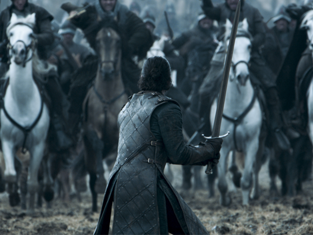 Isang Lot ng mga Tao ang Nakilahok sa Paggawa ng Game of Thrones 'Humongous New Battle