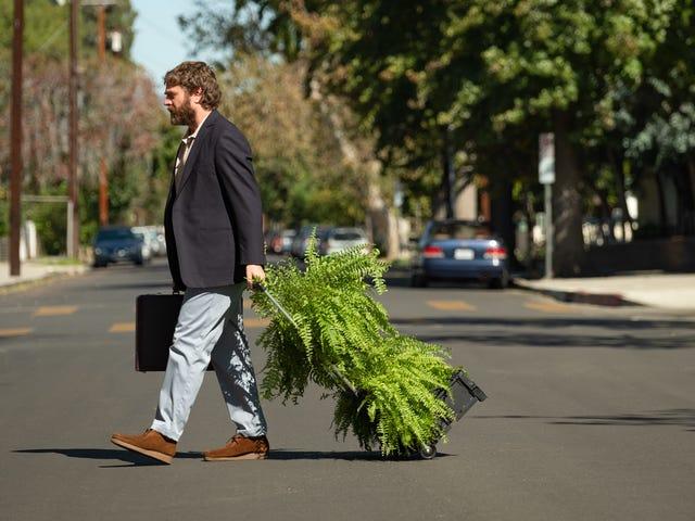 O filme Between Two Ferns é engraçado, mas um pouco diferente