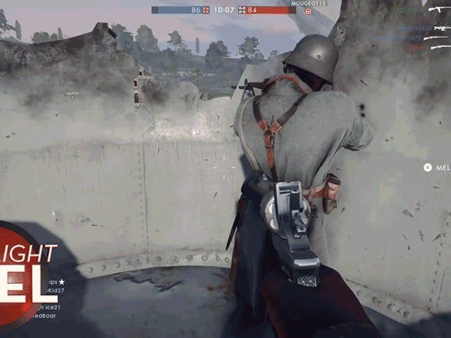 <i>Battlefield</i> Player trenger å se på ryggen