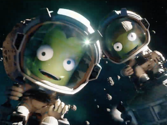 Kerbal Space Program is getting a sequel