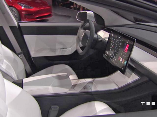 报告:特斯拉的3型显示器将由LG提供