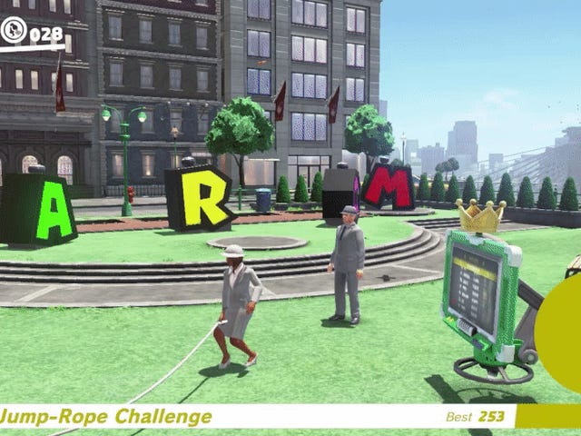 <i>Super Mario Odyssey</i> Players Use Glitch To Break Jump-Rope Challenge Leaderboard