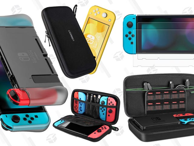 在UGREEN的促销中获得$ 14的Switch便携包和更多Switch配件