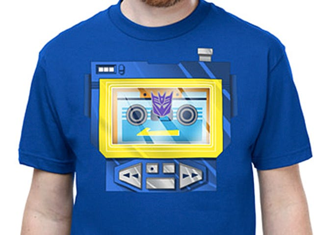 Show Your Loyalty To the Best Decepticon With This Soundwave Tee