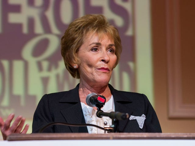 At Long Last, Judge Judy Will Get Her Lifetime Achievement Award