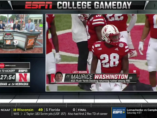 "College Gameday Hedged Maurice Washington's Child Porn Charges As ""Some Legal Issues"""