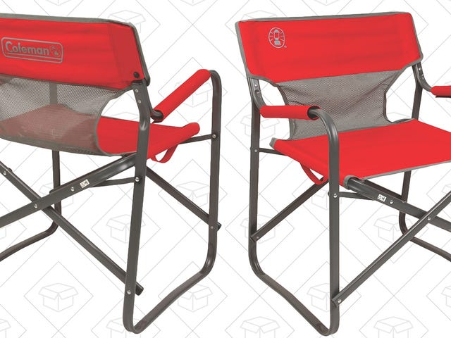 Prime Members Can Soak Up the Sun In a $17 Coleman Deck Chair