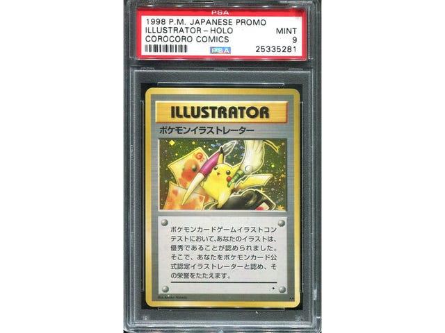 Maan kallein Pokémon-kortti myytiin 195 000 dollarilla