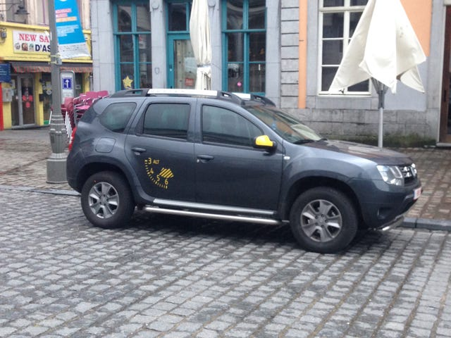 James May's Dacia
