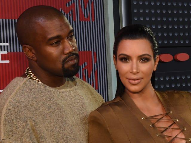 Ligesom alle os ønsker Kim Kardashian Kanye West at stoppe tweeting