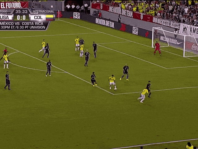 James Rodriguez Defies The Laws Of Physics And Ruins Some American Scrubs
