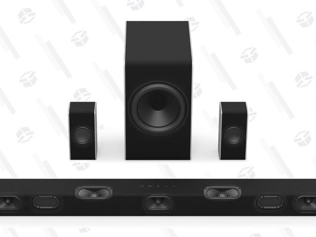 Get a Real Dolby Atmos Audio Setup For $230, With Upward-Firing Speakers and Everything