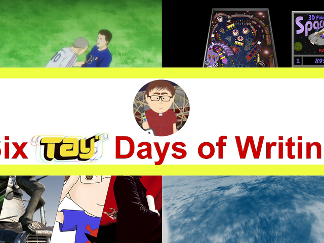 The RedStripe118 SixTAY Days of Writing 2018 Wrap-Up