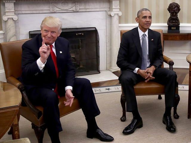 Obama Mengatakan Trump Bagaimana Untuk Memperbaiki Penjagaan Kesihatan: Sebut Nama Ini Sesuatu Lain dan Ambil Kredit untuknya