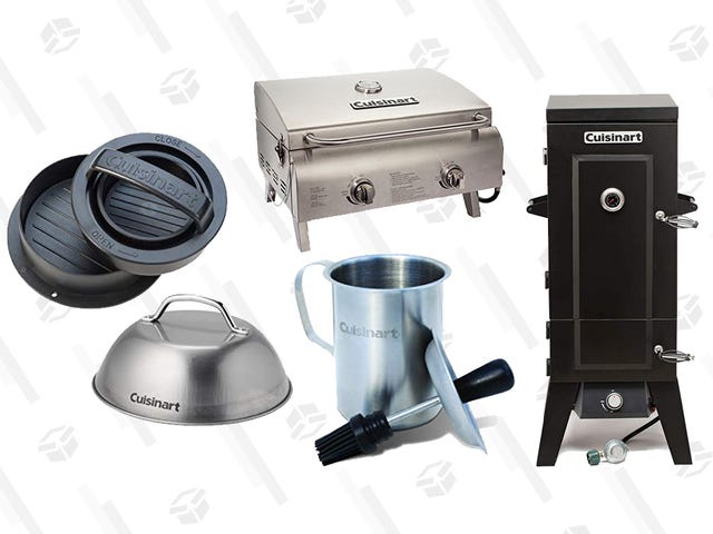 Dream of Barbecue Season With This One-Day Cuisinart Grilling Sale