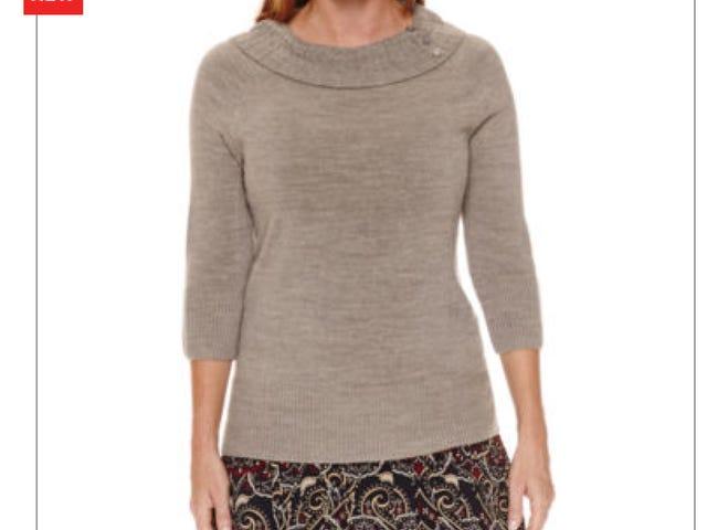 "J.C. Penney sweaters for older women: ""Sag Harbor®"""