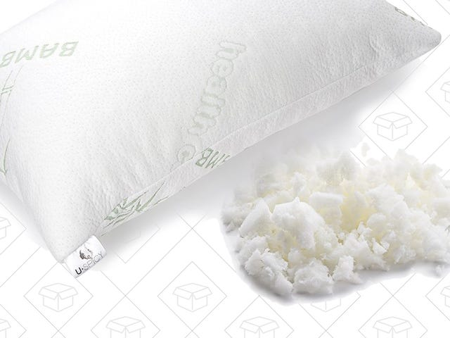 Lay Your Head on Shredded Memory Foam For $20 Off