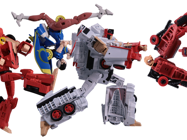 Street Fighter Transformers? Why The Hell Not