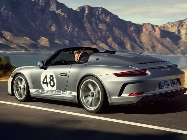 Nếu bạn thực sự xem xét chi $ 275,000 cho chiếc Porsche 911 Speedster 2019, tôi có thể khiêm tốn không