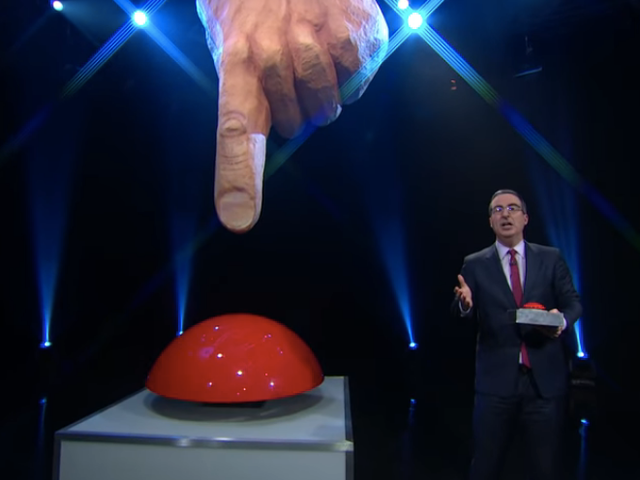John Oliver gives the big, beautiful dialing finger to the FCC over robocalls on Last Week Tonight