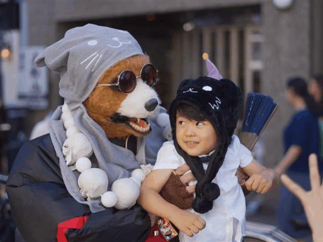 Behold, Japan's Supernatural Cat Festival