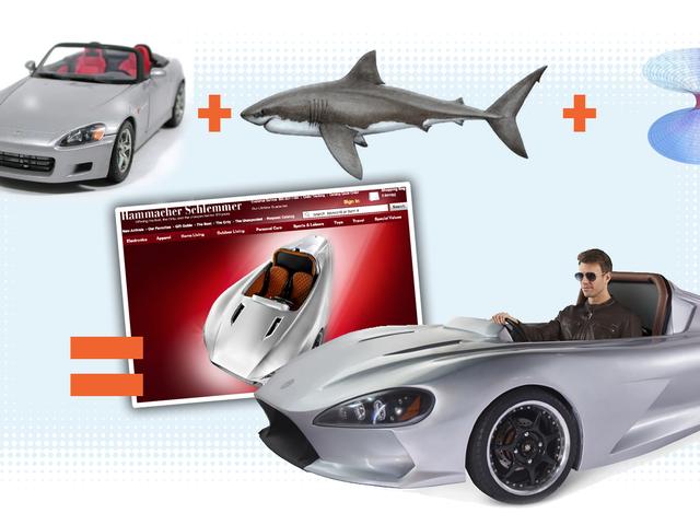 Хаммакер Шлеммер продасть вам тунель, яка виглядає як Honda S2000, і акула вирубана в черв'яку