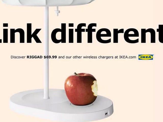 Τι θα σπάσει πρώτα, το iPhone ή το ασύρματο φορτίο των επίπλων Ikea