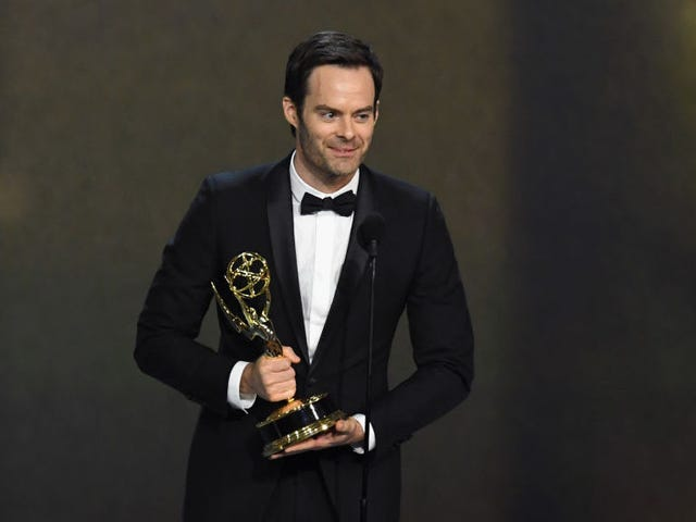 Bill Hader's pitch-blackBarry performance is fueled by shitty high school memories