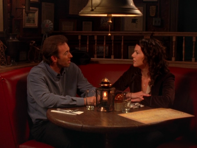 Gilmore Girls gives Luke and Lorelai the perfect first date