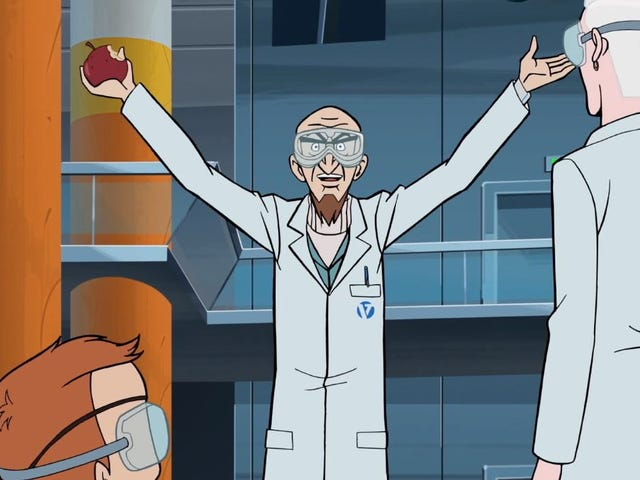 A new invention leads to old jokes on The Venture Bros.