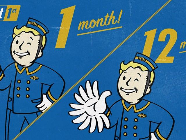 Bethesda πωλεί τώρα $ 100 ετήσιες συνδρομές για αποκλειστικά Fallout 76 χαρακτηριστικά