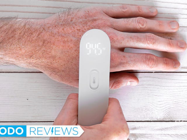 This $20 Thermometer Doesn't Even Need to Touch You to Take Your Temperature