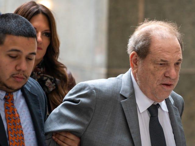 Lo stupratore accusato Harvey Weinstein ora afferma che è la cosa migliore da accadere alle donne di Hollywood