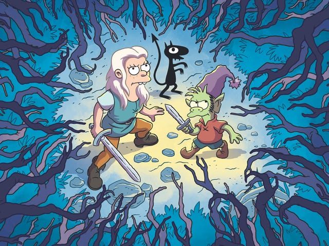 An excellent cast rescues fantasy parody Disenchantment from mediocrity