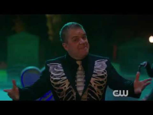 It's the Halloween season and Rachel Bloom (or to be fair, Patton Oswalt) is here to remind us what is truly scary