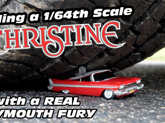 Killing CHRISTINE with a Real Plymouth Fury