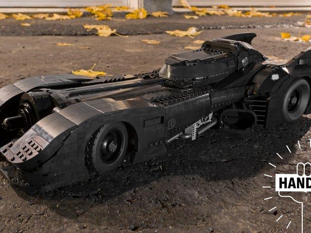 Batmobile mới 3,300 mảnh Tim Burton có thể là mô hình Lego tốt nhất tôi từng chế tạo