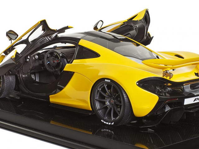McLaren Recommends This Obscene $12,000 P1 Replica As a Stocking Stuffer