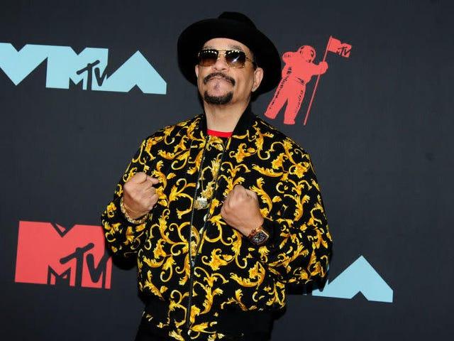 Wenn Sie sich jemals niedergeschlagen fühlen, denken Sie daran, dass Ice T wahrscheinlich bei Ihnen steht