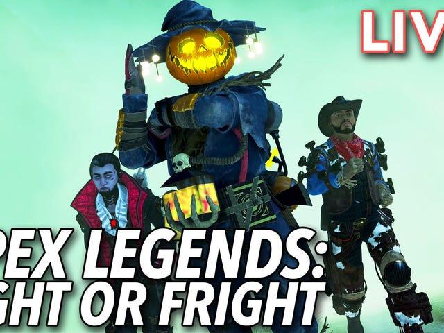 Joshua og jeg springer med hovedet ind i den nye Fight or Fright-begivenhed, som Apex Legends kan tjekke ud